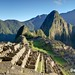Machu Picchu, Peru - Sunrise over The Lost City of the Incas