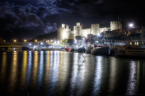 822/1000 - Conwy Castle by Mark Carline
