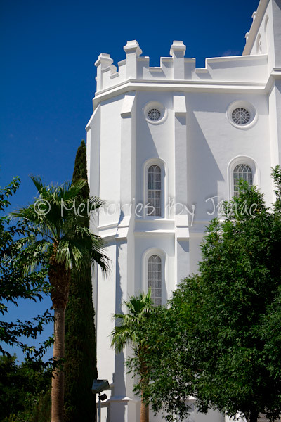 St. George Vintage LDS Temple Prints -9986