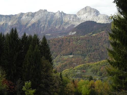 Mont Charvin et route d'Héry