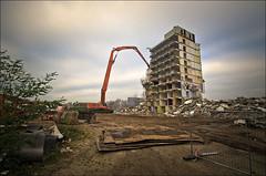 Once A Home (Rense Haveman) Tags: street city urban home demolition ede flatbuilding pentaxk5