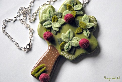 Happy Tree Necklace