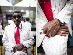 Mr Alcir (eduviero.com) Tags: red brazil streets brasil portraits 50mm pessoas diptych details tie rings gravata vermelha ruas detalhes peolple aneis 5dmk2 wwweduvierocom