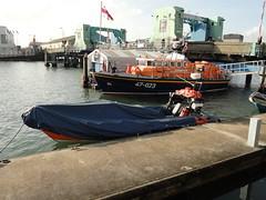 UK police boat (3l1m1nat3) Tags: uk england car boat britain police ticket bin dorset but poole 2011