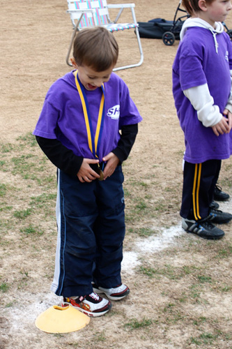 Smiling-medal