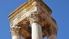 Anjar, Umayyad city, al-Walid I, 705-15, tetrapylon (3) (Prof. Mortel) Tags: lebanon umayyad anjar