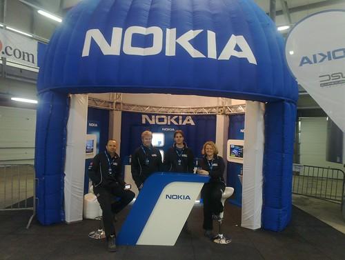 Nokia stand