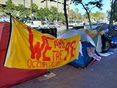 #OccupySF expands down Market Street. #OWS