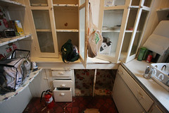 scullery cupboards (julia fredenburg) Tags: california kitchen victorian restoration redwood renovation parentshouse eureka 1890s scullery
