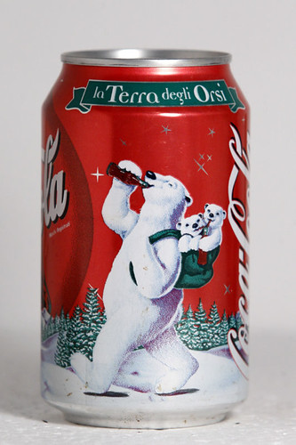 1999 Coca-Cola Italy Christmas Polar Bears 2 by roitberg