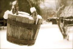 A Hole in My Bucket (Foto Fascination) Tags: winter snow cold heritage bucket britishcolumbia okanagan frosty well kelowna fatherpandosymission