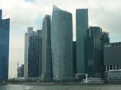 Marina Bay - One Marina Boulevard, One Raffles Quay, OUE, The Sail, Asia Square and MBFC Buildings (kfcatles) Tags: city sun art tourism water museum architecture marina buildings outdoors flyer singapore asia southeastasia lotus south sunny science casino exhibition tropical conference cbd maquarie citibank equator mbs ntuc tallbuildings marinabay shoppes omb capitalcity oue thesail orq onerafflesquay singaporeflyer marinabaysands mbfc onemarinaboulevard marinabaysouth artsciencemuseum asiasquare