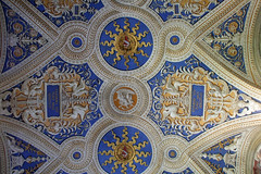 Flat ceiling art (ejhrap) Tags: italy vatican rome roma art painting gold italia decoration musei ceiling museums decorated vaticani odt