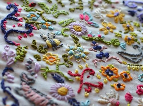 Angel: Doodle Stitch Sampler