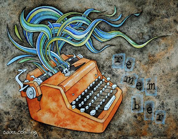 remember typewriter
