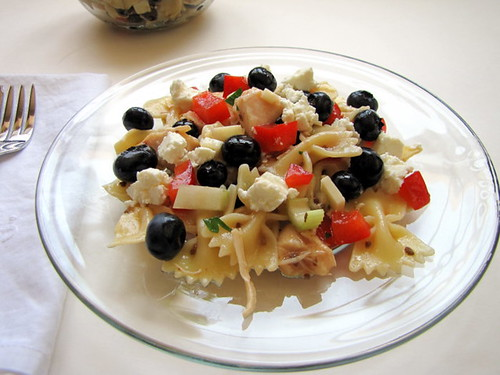 Red, White, and Blue Pasta Salad