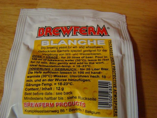 Brewferm Blanche wit yeast