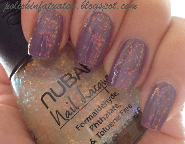 parlez-vous opi with Nubar 2010 (indoors, natural light)