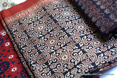 Ajrak, The Making of (~FurSid) Tags: pakistan fashion handicraft asia local making sindh indigenous ajrak febric