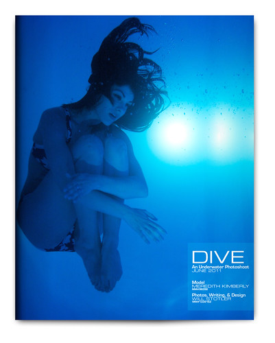 Design Project: Underwater Magazine Spread - Cover