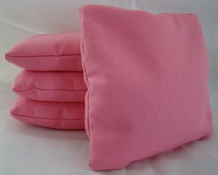 Pink Cornhole Bags