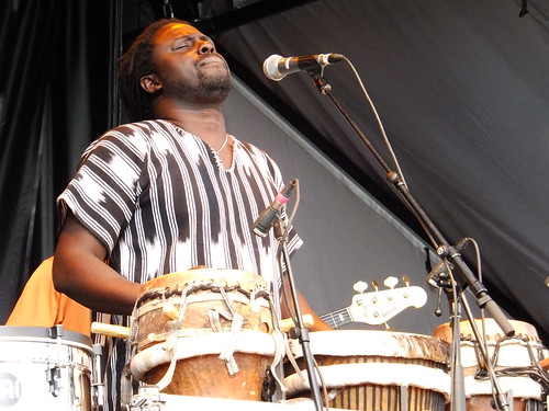 Elage Mbaye at Bluesfest