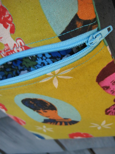 Passport Pouch by Poppyprint