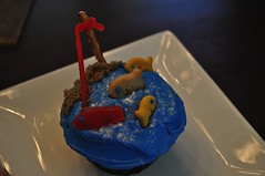 Fishing Cupcakes by Vicki and Parker