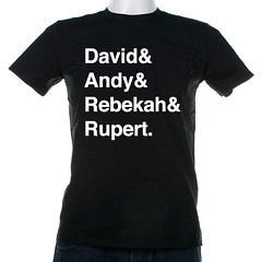 Alarmed by the cliquey #notw/NI/Chipping Norton Set, so I made them a t-shirt for their next dinner party