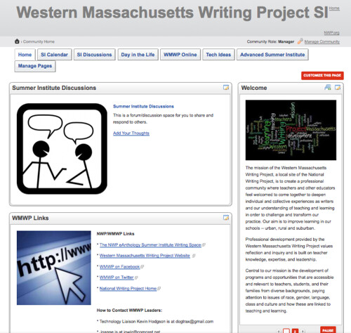 WMWP Connect Homepage
