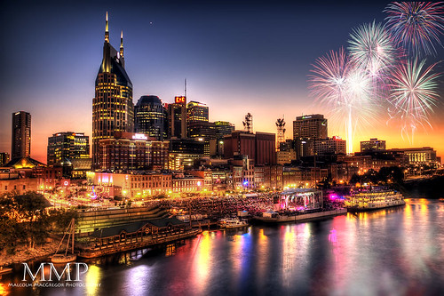 Fireworks Over Nashville