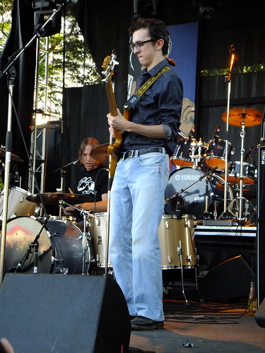 Jimmy Bowskill Band at Ottawa Bluesfest 2011
