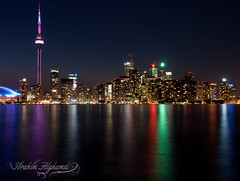 Toronto  (Ibrahim.Alghamdi) Tags: toronto canada tower night cn