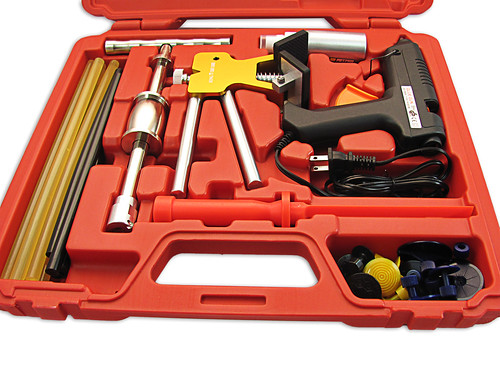 Pdr Paintless Dent Repair Auto Body Tools W Glue Puller Ebay