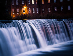 Drowning machine (Jase-18) Tags: canon dawn twilight lowlight cumbria carlisle weir caldew ef50mm18ii eos550d rebelt2i kissx4digital