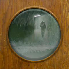 the end is near... (*bratan*) Tags: door photoshop creation fantasy porthole photomontage imagination hublot fantaisie