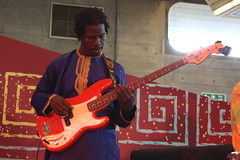 Kadialy Kouyate & Sound Archive (2011) 06 (KM's Live Music shots) Tags: guitar senegal bassguitar worldmusic southbankcentre kadialykouyate londonafricanmusicfestival traditionalmandinkamusic abdoulayesamb