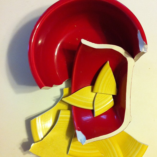 Not the best day for the #fiestaware :(