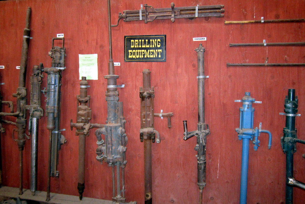 Colorado - Idaho Springs: Argo Gold Mine and Mill - Drilling Equipment