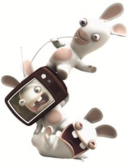 Raving Rabbids on TV