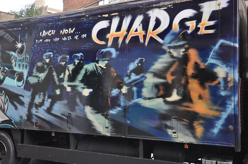 Banksy Turbozone truck