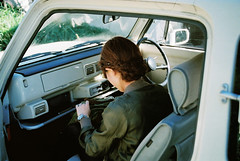 (chakky**) Tags: woman film girl car japan nikon pao fe nagano