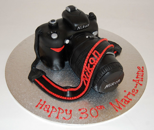 Enjoyable Nikon Camera Cake Beautiful Birthday Cakes Personalised Birthday Cards Vishlily Jamesorg