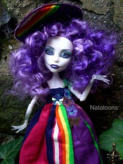 Monster High Afternoon Tea - Spectra (Nataloons) Tags: party paris fashion monster by high doll tea spectra mattel louos souol monsterhigh vondergeist spectravondergeist