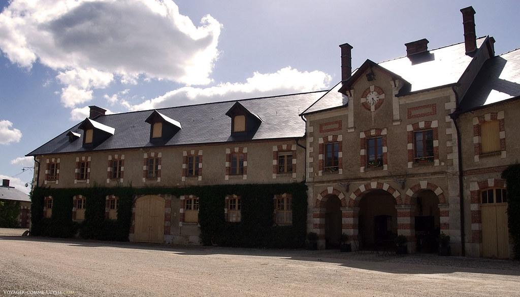 Anciennes écuries et logements du château