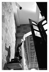 El globo del santo (@amarulero) Tags: door roof shadow sky people puerta san colombia gente monumento catedral iglesia sombra cielo linares raul bomba gil estatua santander santo techo globo amaru dsc4708 amarulero