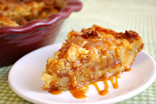Article first published as Caramel Apple Bread Pudding on Blogcritics.