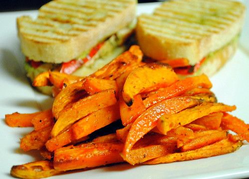 Grilled Chicken and Roasted Red Pepper Panini – Crazy Jamie