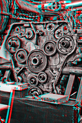 3d_barrow_deltic (The_Jon_M) Tags: red stereogram 3d diesel hill cyan anaglyph napier barrow 3ds roundhouse opposed deltic redcyan barrowhill horizontally horizontallyopposed