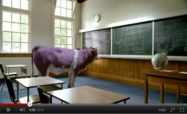 Las matemáticas del anuncio de Milka